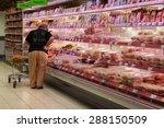 goch  germany   may 6  customer ... | Shutterstock . vector #288150509