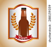 cold beer design  vector... | Shutterstock .eps vector #288159359