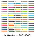 infographic elements button...   Shutterstock .eps vector #288160451