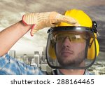 worker  african  black. | Shutterstock . vector #288164465