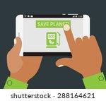 save planet mobile application...