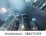 the skyscraper in city | Shutterstock . vector #288171359
