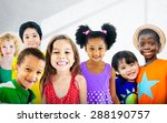 diversity children friendship... | Shutterstock . vector #288190757