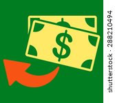 cashback icon from business... | Shutterstock . vector #288210494