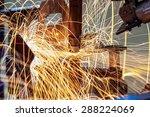 industrial welding automotive... | Shutterstock . vector #288224069