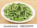 Stir Fry Organic  Green Beans...