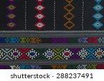 texture of handmade thai silk... | Shutterstock . vector #288237491