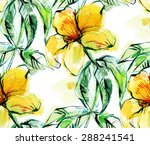 print  seamless pattern with... | Shutterstock .eps vector #288241541