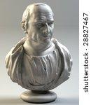 Bust Of Cicero  3d Render