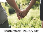 holding hands  love concept | Shutterstock . vector #288277439