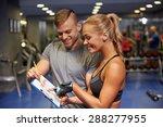 fitness  sport  exercising and... | Shutterstock . vector #288277955