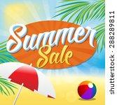 summer sale | Shutterstock .eps vector #288289811