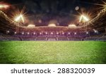 image  of stadium in lights and ... | Shutterstock . vector #288320039