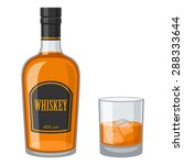 whiskey | Shutterstock .eps vector #288333644