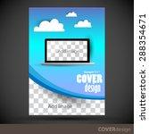 vector brochure  flyer  cover... | Shutterstock .eps vector #288354671