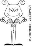 a cartoon businessperson bee...   Shutterstock .eps vector #288389807