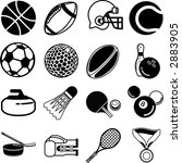 series of icons or design... | Shutterstock . vector #2883905