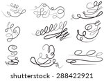 set  design elements and page... | Shutterstock . vector #288422921