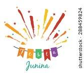 latin american holiday festa... | Shutterstock .eps vector #288459824