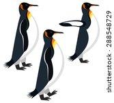 penguin   Shutterstock .eps vector #288548729