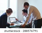 business team working | Shutterstock . vector #288576791