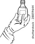 illustration shows a hand...   Shutterstock .eps vector #28859644