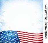 us american flag themed... | Shutterstock .eps vector #288606494