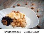 healthy porridge of quinoa and... | Shutterstock . vector #288610835