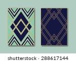 vintage design vector templates ... | Shutterstock .eps vector #288617144