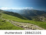 polish tatra mountains in the...   Shutterstock . vector #288621101