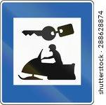 icelandic service road sign  ...   Shutterstock . vector #288628874