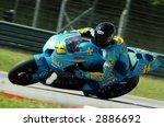 vermuelen riding rizla suzuki... | Shutterstock . vector #2886692