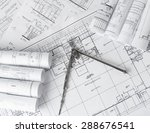 rolls of architecture... | Shutterstock . vector #288676541