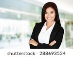 business woman at the office... | Shutterstock . vector #288693524