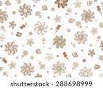 flower collage | Shutterstock . vector #288698999