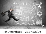 running  men  business. | Shutterstock . vector #288713105