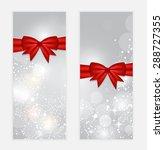 christmas snowflakes website... | Shutterstock . vector #288727355