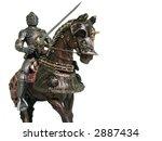 medieval knights   various... | Shutterstock . vector #2887434