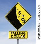 a modified road sign on the... | Shutterstock . vector #288779471