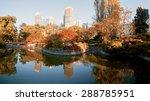melbourne on a sunny autumn ... | Shutterstock . vector #288785951