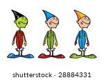little christmas helpers | Shutterstock .eps vector #28884331