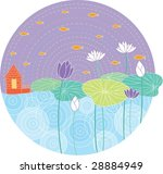 an illustration of a painting | Shutterstock .eps vector #28884949