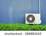 air compressor installation on... | Shutterstock . vector #288883265