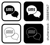 speech sms bubble icon