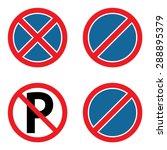 No Parking Sign Set