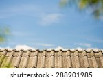 The Roof Under Blue Sky In The...