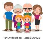 vector cartoon illustration of... | Shutterstock .eps vector #288920429