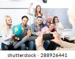 female mature professor taking... | Shutterstock . vector #288926441