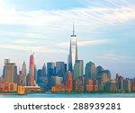 new york city  financial... | Shutterstock . vector #288939281