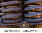 close up of rusted springs on...   Shutterstock . vector #288939641